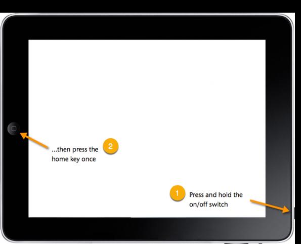 iPad screenshotting