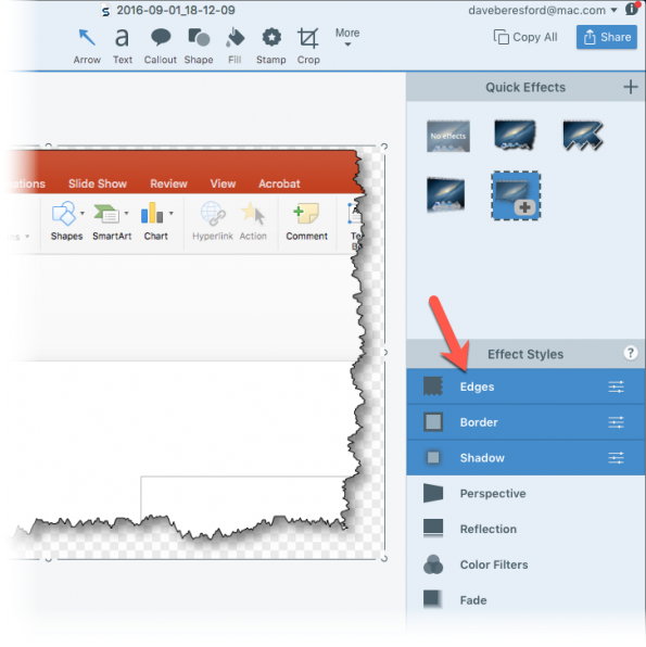 snagit with a PP screenshot2