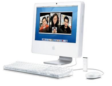 Old Apple iMac