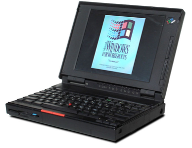 Windows 3.1 laptop