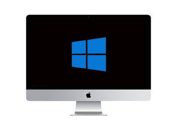 Windows running on a IMac