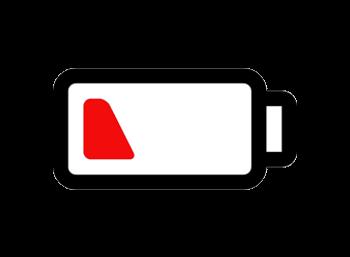 low battery symbol