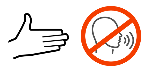 Show not Tell symbol