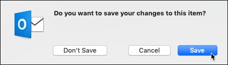 Save dialog box
