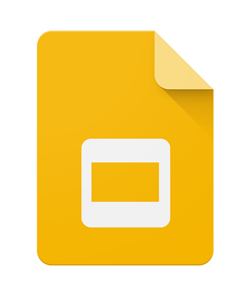 Google Slides logo